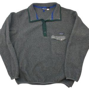 Vintage Patagonia Pullover Snap T Synchilla XL USA